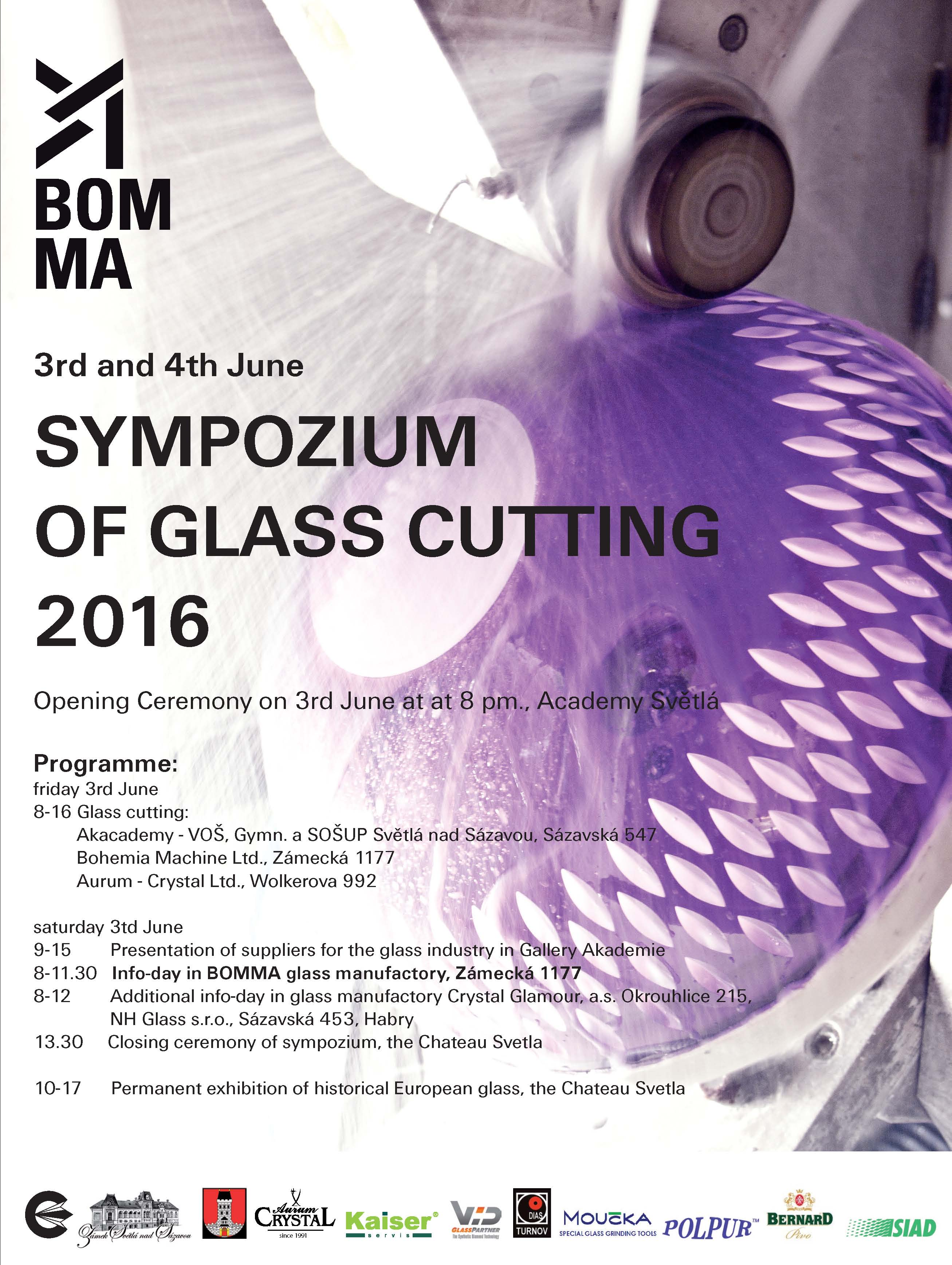 Our company participation on Sympozium of  GLASS CUTTING